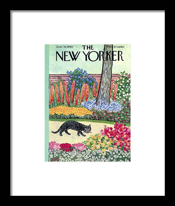 New Yorker Cover - June 18, 1960 by William Steig
