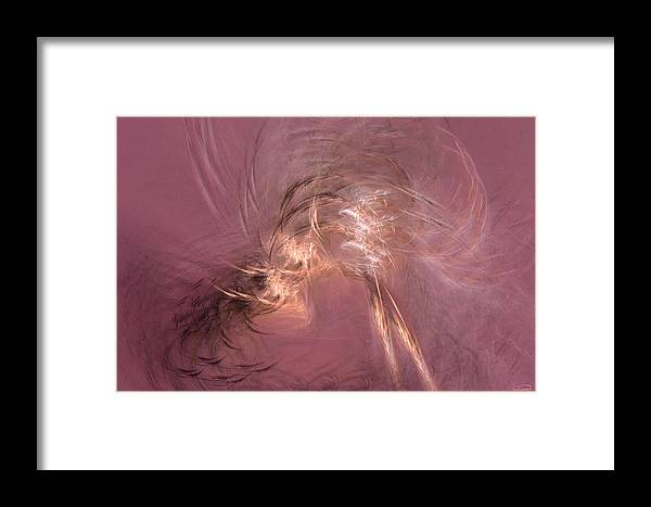 Abstract Framed Print featuring the painting The Next Sunday by Emma Alvarez