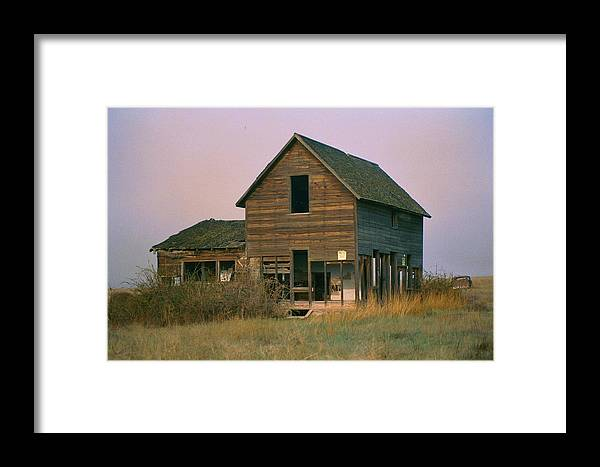 Old Framed Print featuring the photograph The Old Homestead by JoJo Photography