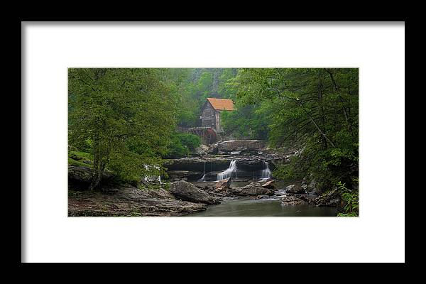 Glade Creek Framed Print featuring the photograph The Old Mill by William Bentley