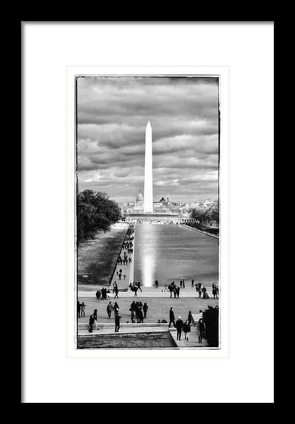Washington Dc Framed Print featuring the photograph The Omen by Sonny Dugal