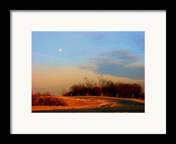Landscape Framed Print featuring the photograph The On Ramp by Steve Karol