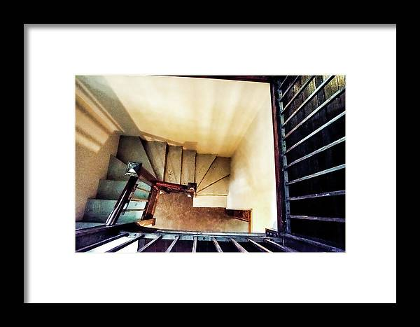 Stair Framed Print featuring the photograph The O'neil by Mike Kennedy