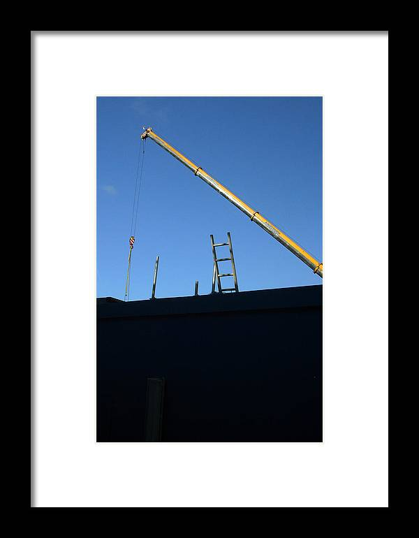 Jez C Self Framed Print featuring the photograph The Only Way Is Up by Jez C Self