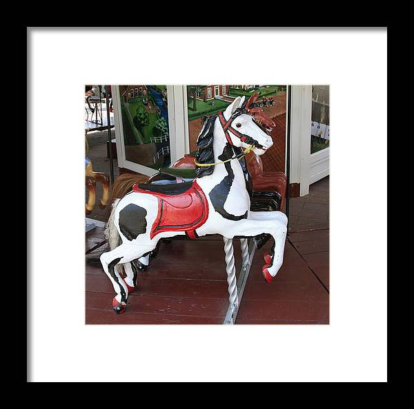 Horse Framed Print featuring the photograph The Painted Horse by Robert Pearson