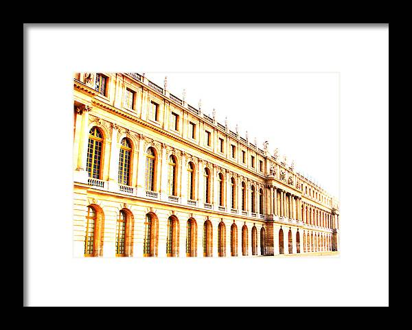 Versailles Framed Print featuring the photograph The Palace by Amanda Barcon