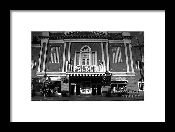 Palace Theater Framed Print featuring the photograph The Palace by David Lee Thompson