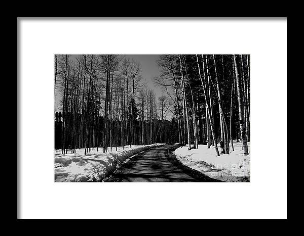 New Mexico Framed Print featuring the photograph The Pass by Patrick Godfrey