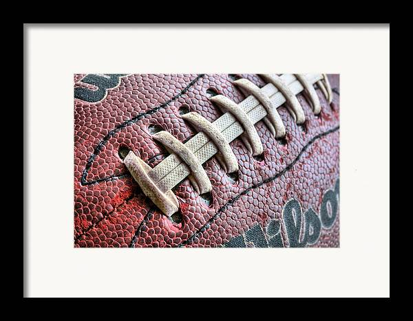 Football Framed Print featuring the photograph The Path by JC Findley