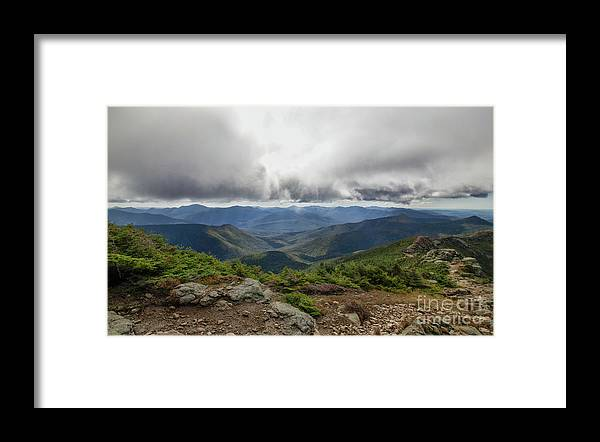 Franconia Ridge Framed Print featuring the photograph The Pemi Wilderness by Diana Nault