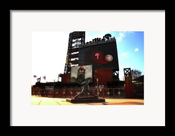 Sports Framed Print featuring the photograph The Phillies - Steve Carlton by Bill Cannon
