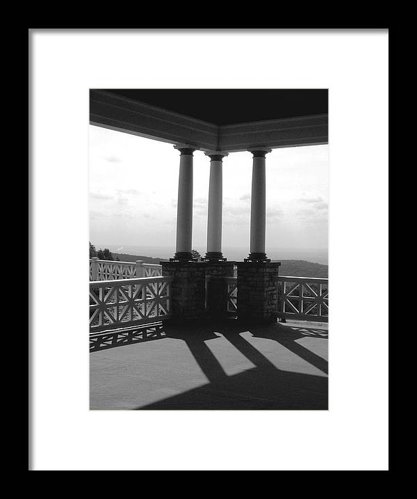 Summer Framed Print featuring the photograph The Porch by Evelynn Eighmey