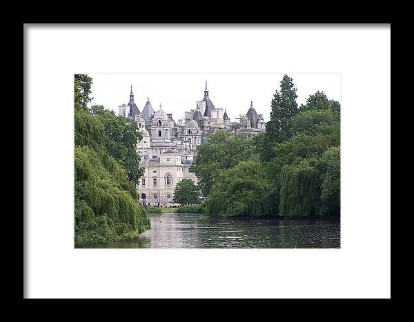 Landscape Framed Print featuring the photograph The Princess Castle by Chuck Shafer
