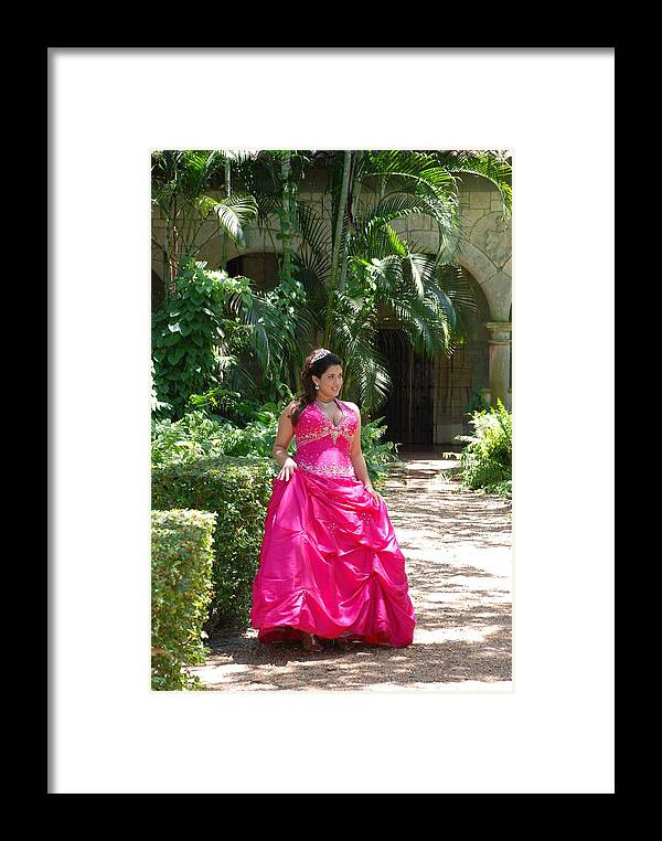 Girl Framed Print featuring the photograph The Princess by Rob Hans
