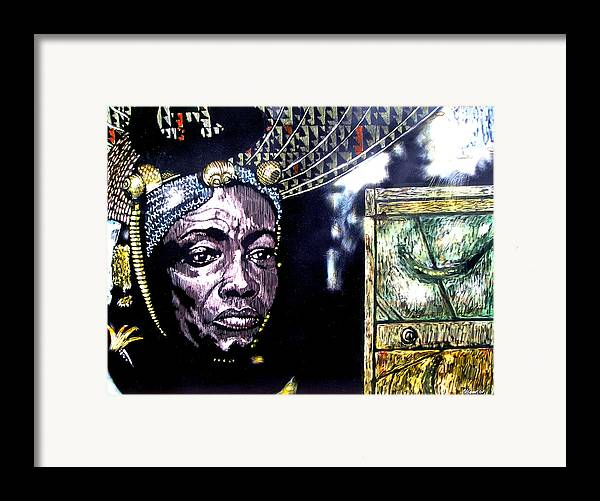 Framed Print featuring the mixed media The Promise Keeper by Chester Elmore