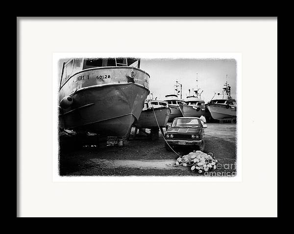 Alaska Framed Print featuring the photograph The Real Alaska - Dry Dock 1 by Pete Hellmann