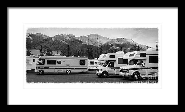 Alaska Framed Print featuring the photograph The Real Alaska - Rv Skyline by Pete Hellmann