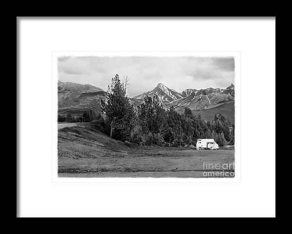Alaska Framed Print featuring the photograph The Real Alaska -The Good Life by Pete Hellmann