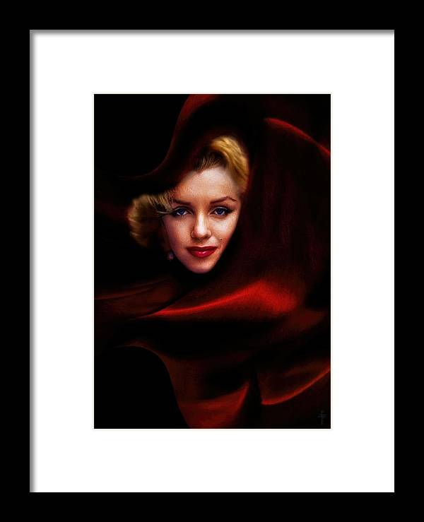 The Red Queen Framed Print featuring the photograph The Red Queen by Daniel Arrhakis