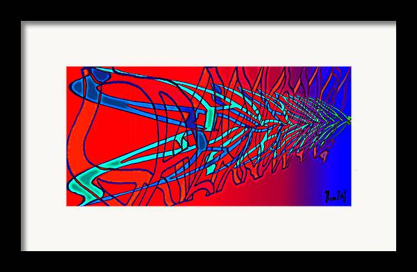 C2 Framed Print featuring the digital art The Risc Of Alcohol by Helmut Rottler