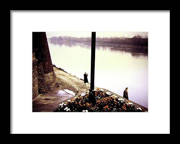 1955 Framed Print featuring the photograph The River Seine 1955 by Will Borden