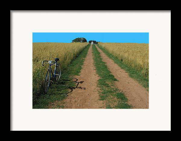 Dirt Framed Print featuring the photograph The Road To Home by Carl Purcell