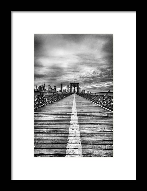 Cities Framed Print featuring the photograph The road to tomorrow by John Farnan