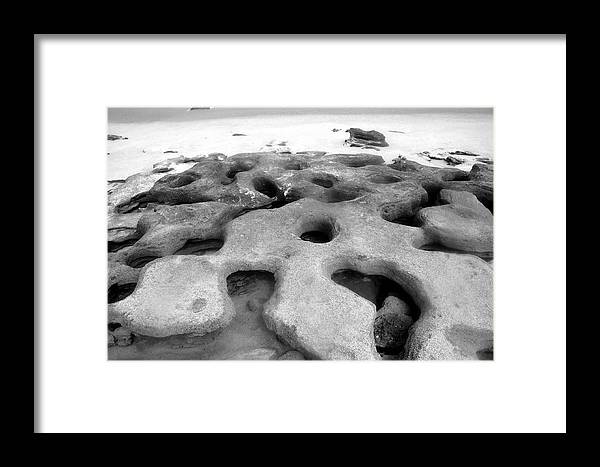 Florida Framed Print featuring the photograph The Rocks by David Lee Thompson