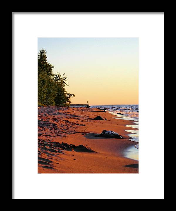 Beach Framed Print featuring the photograph The Sands of Dusk by Peter Mowry