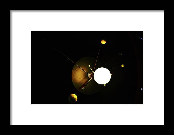 The Framed Print featuring the photograph The Satellites by HazelPhoto
