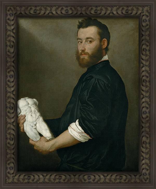 The Sculptor Alessandro Vittoria by Giovanni Battista Moroni