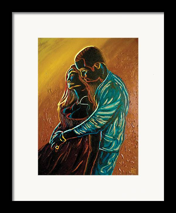 Artwork Framed Print featuring the painting The Seed by Fli Art
