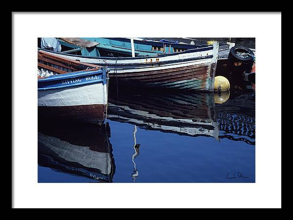 Boat Framed Print featuring the photograph The Sitting Bull by Carlos Alvim