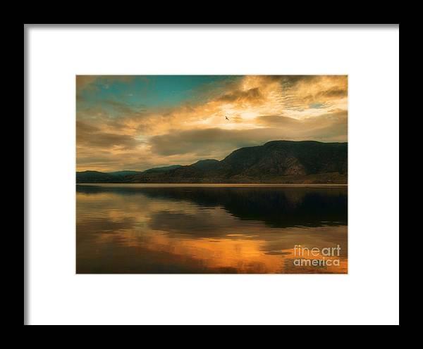 Skaha Framed Print featuring the photograph The Skaha Sunrise by Tara Turner