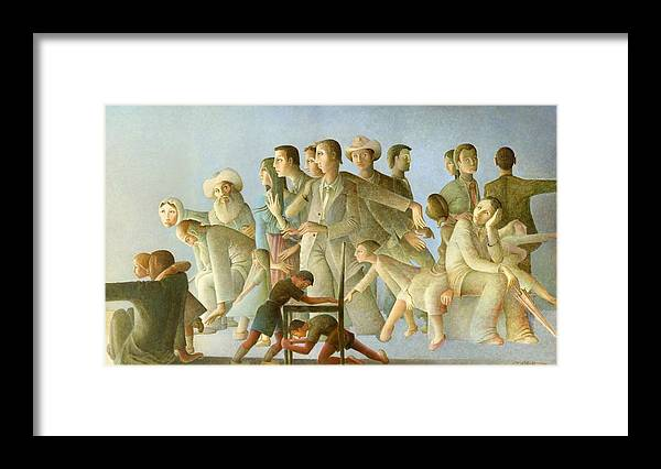The Source Of Light Framed Print featuring the painting The Source Of Light by Giuseppe Mariotti