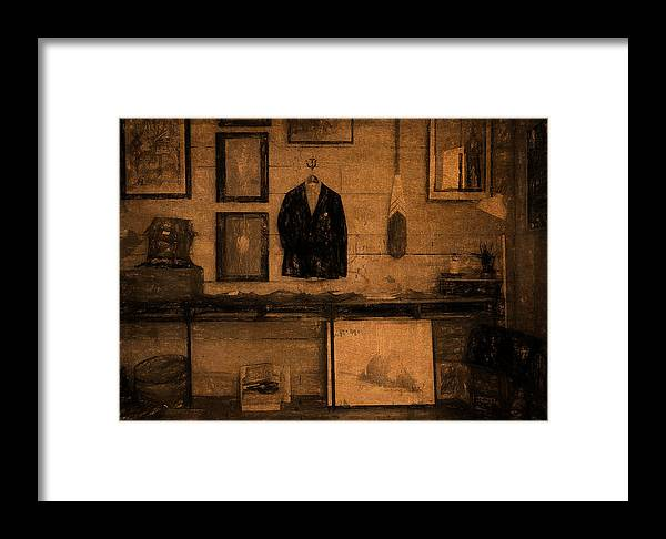 Games Framed Print featuring the digital art The Sports Pavilion by Sarah Vernon