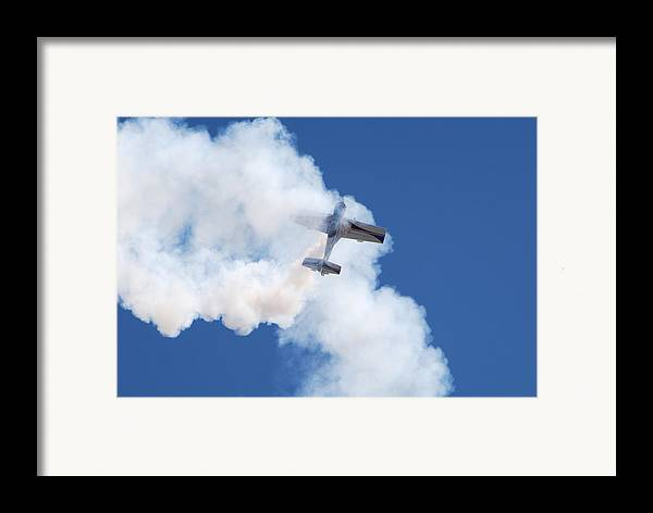 Aircraft Framed Print featuring the photograph The Stall by Larry Keahey