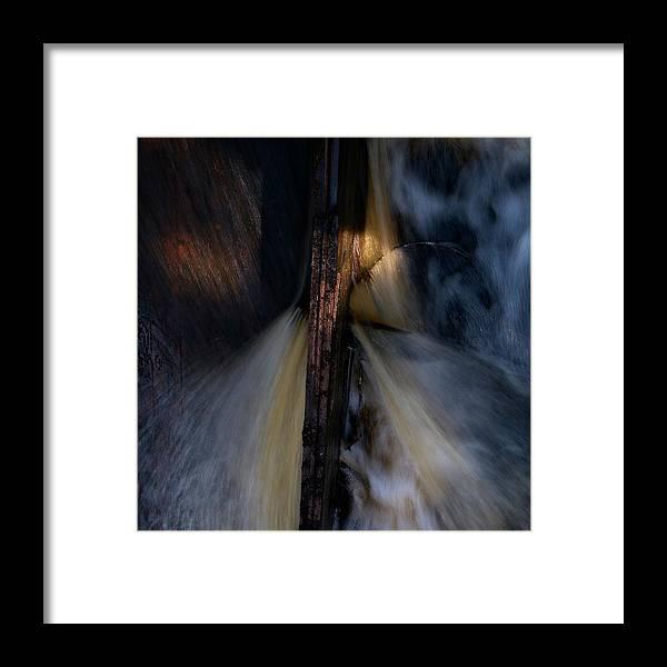 Lehtokukka Framed Print featuring the photograph The Stream 2 by Jouko Lehto