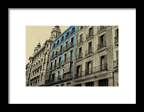 Architecture Framed Print featuring the photograph The Streets Of Toledo by JAMART Photography