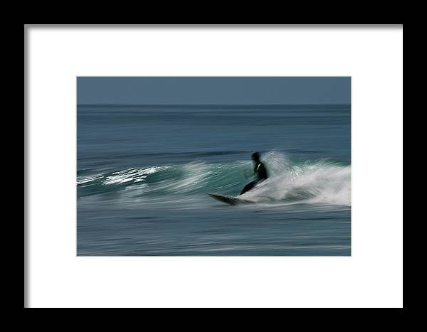 Bah�a De Banderas Framed Print featuring the photograph The Surfer by R J Ruppenthal