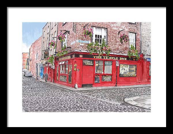 The Temple Bar Pub by David O Reilly