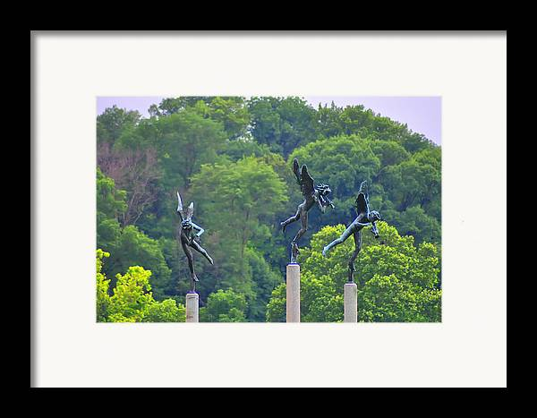 Angels Framed Print featuring the photograph The Three Angels by Bill Cannon