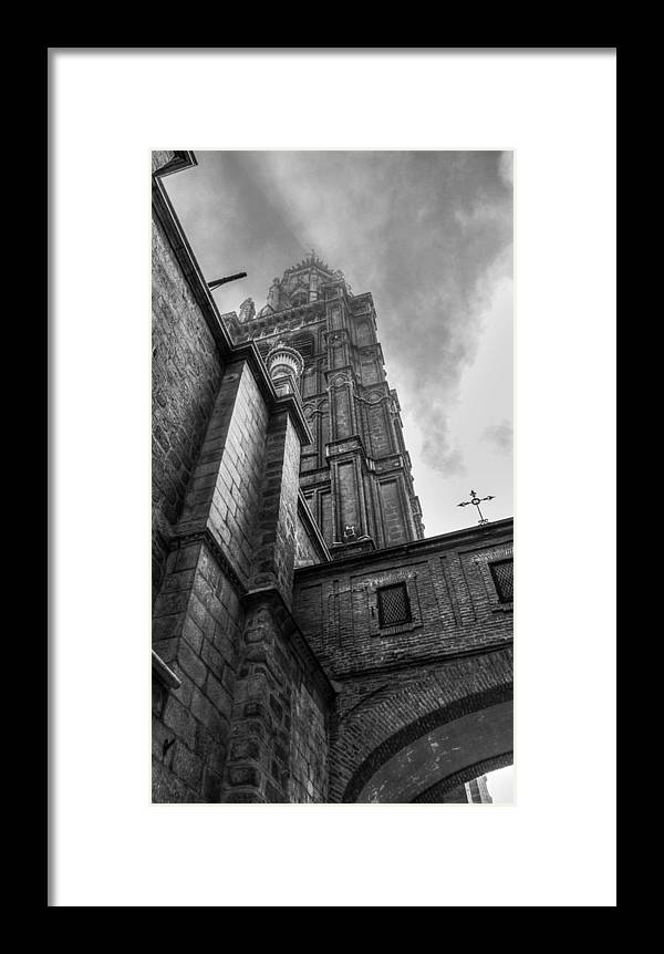 Photography Framed Print featuring the photograph The Tower by Ignacio Leal Orozco
