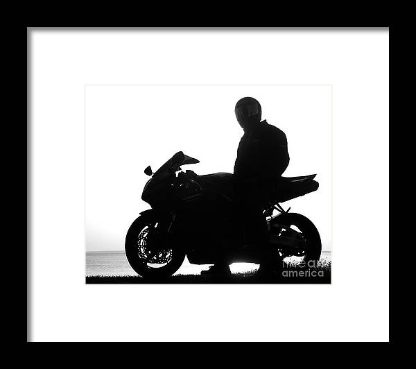 Black Framed Print featuring the photograph The Toy by Jack Norton