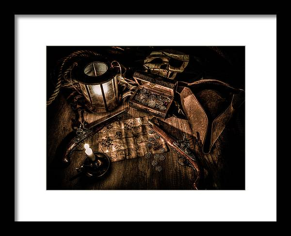 Pirates Framed Print featuring the photograph The Treasure Hunt by Hans Zimmer