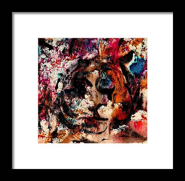 Twilight Zone Framed Print featuring the painting The Twilight Zone by Natalie Holland