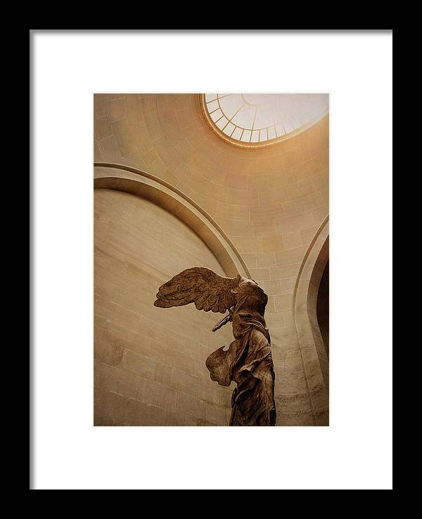 Winged Framed Print featuring the photograph The Victory by JAMART Photography
