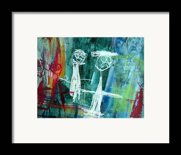 Wedding Framed Print featuring the mixed media The Wedding Party by Alfred Resteghini