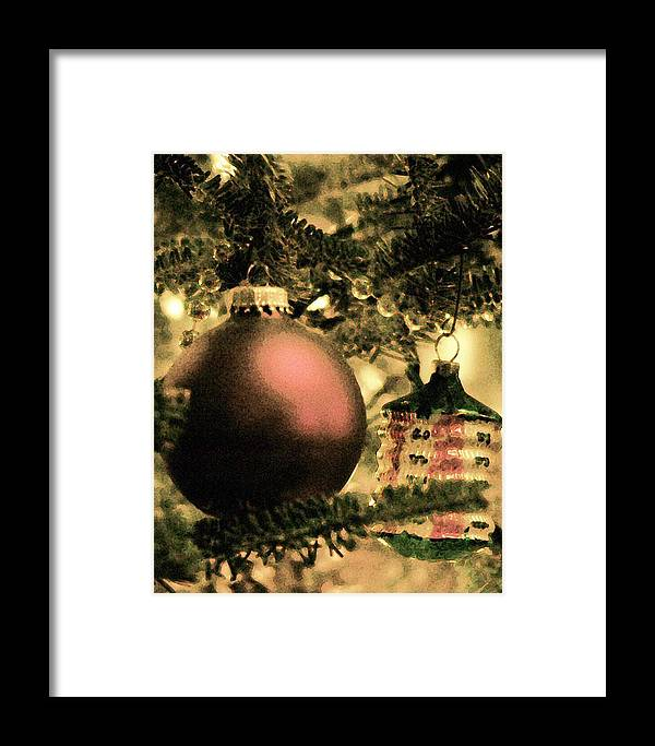 Xmas Framed Print featuring the photograph The Winter Holiday. by Robert Ponzoni