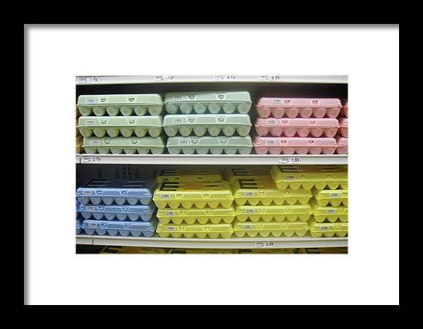 Eggs Framed Print featuring the photograph The Yellow Ones Taste Better by WaLdEmAr BoRrErO